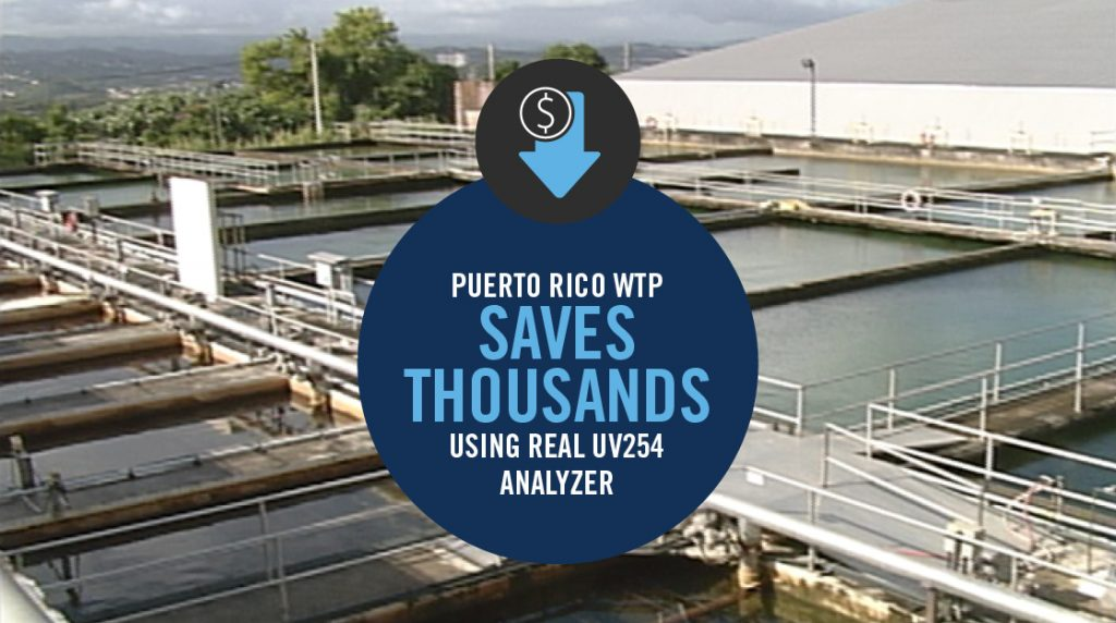 CASE STUDY: PUERTO RICO WTP SAVES THOUSANDS WITH UV254
